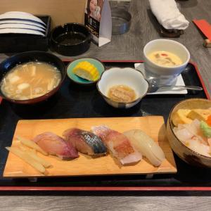 福井市で980円のお寿司ランチ「ゆうさや」
