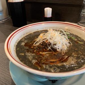 福井市「優」で黒ごま担々麺