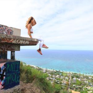 オアフ島アクティビティ☆ラニカイビーチを望む絶景トレイル「ラニカイ・ピルボックス」【ハワイ写真】