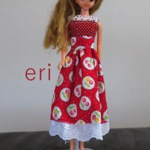ジェニーちゃん サマードレス赤