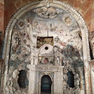 クロミエのキャプサン市立美術館①貝殻の洞窟