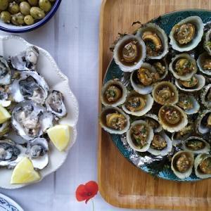 ブルターニュの旅⑦Dinardの海で牡蠣狩り