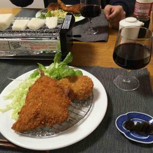 手抜き晩御飯