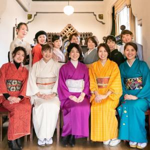 京都・着付け教室│葵桜の生徒さんはいい人ばっかり!生徒さんも業界の方も皆さんそう言われます←自慢