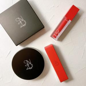 S2ND TOUCH STAY LIP TINT と S2ND TOUCH CUSHION