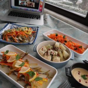 イスタンブール同窓会オンライン料理教室