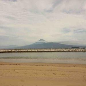 運動会と富士山と海鮮丼