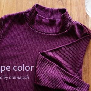 ☆PCウィンター×骨格ストレートの秋服は?ユニクロのリブハイネックTのPurple絶対買いだと思う。