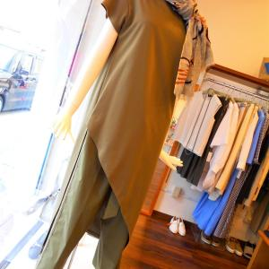 ロングTシャツ&ワイドパンツ・・・・☆