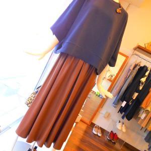 レザースカート・・・☆