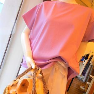 スモーキーピンクのTシャツ・・・☆