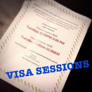VISA SESSION