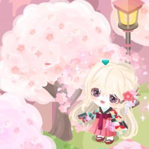 ピグパーティー 桜