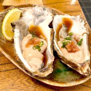 初の生牡蠣を食す!!
