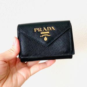PRADA(プラダ)二つ折りミニ財布を購入!