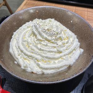 渋谷 山下本気うどん 白い明太チーズクリームうどん