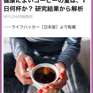 健康に良いコーヒーの量は?