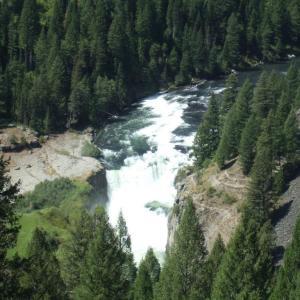Day9_2 アイダホ州からモンタナ州へ 〜黄金の草原と滝と黒毛wagyuと