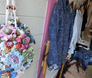 6月梅雨の晴れ間の出店作品♪& 本日の花は紫陽花