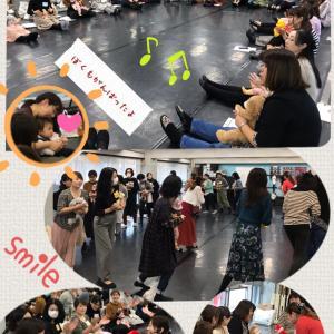 ◆東京♪大盛況に感謝(^^)◆ここから始める!0歳からのリトミック!◆