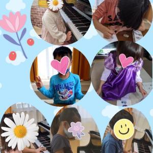 滋賀県湖南市ピアノ教室◆おうちレッスンのみんなも頑張ってます♪◆