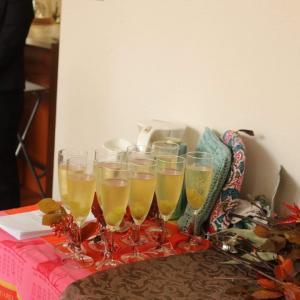 秋のパリをイメージした、お紅茶パーティー、開催しました。