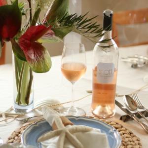 フレンチの基本のレッスンは、料理もワインも空間も南仏でした!
