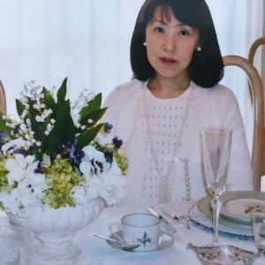 テーブルコーディネートの中村明美先生をお招きします!