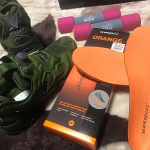 30年前の銘靴発見(・・;) 毎日の仕事、レーシングシューズとして使用します。リーボック ポンプヒューリー