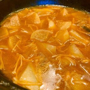 [レシピ 掲載】土鍋で、時短♪しかも!うまうま!「大根の中華煮」