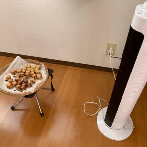【時短術】冬でも、キッチンで扇風機が活躍するわけ。