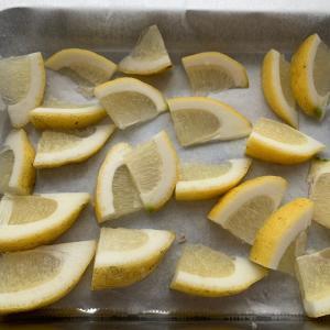 【自家製冷凍食品】レモンの保存♪使いやすいように♪
