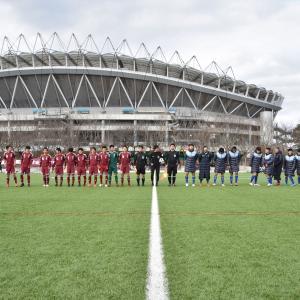1月25日(土)に行われた「茨城県高校サッカー新人大会 準決勝 vs 古河一」の写真をWebアルバムにアップしました!