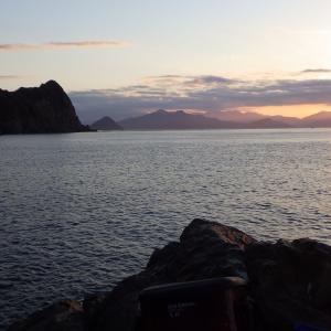 磯釣り 5回目 日振島