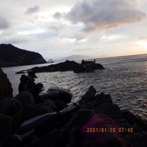 磯釣り 8回目 日振島