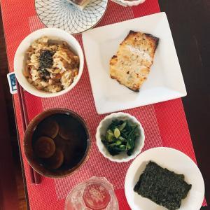 私の朝ご飯♪