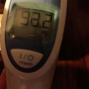 体温と血中酸素濃度と脈拍。