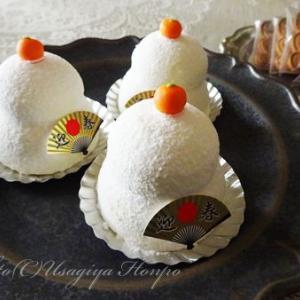 豊島屋洋菓子舗置石*鏡餅のケーキ*