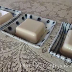 おうちツマミ*男前豆腐*京の石畳*冷ややっこ*空豆