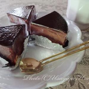 *おうちカフェ*OKASHI0467*チョコレートケーキ*なめらかショコラ*