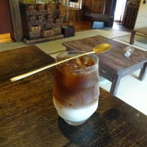 燕カフェ鎌倉*ぽわんと美味なドリンク【コアントローアイスブリュー】