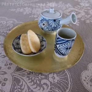 箒星+g*吉田崇昭さんの茶器*染付の急須と茶杯でいっぷく