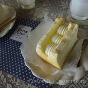 POMPON CAKES*エンジェルフードケーキでおうちカフェ