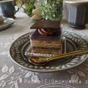 イルドショコラ*オペラと特選チョコプリン(ビター)*チョコレート