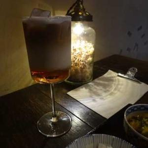 燕カフェ鎌倉*明治時代の牡丹と蝶の金継ぎ小皿*酒と骨董