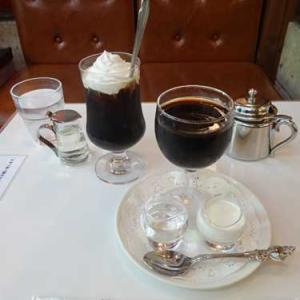 イワタコーヒー店*コーヒーゼリーとアイスウィンナーコーヒーで珈琲づくし
