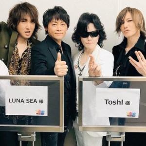 Toshl、LUNA SEA Mステスーパーライブ画像