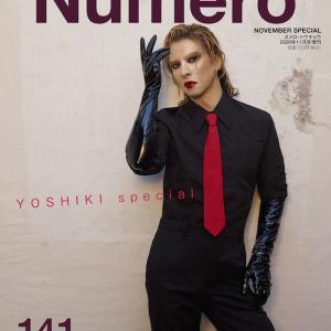 YOSHIKI表紙『Numero TOKYO』11月号