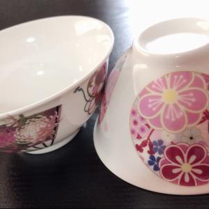 チラシ用の お茶碗の見本を作ってみました(*^▽^*)