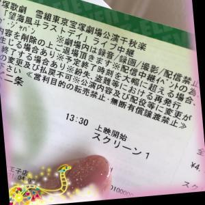 宝塚雪組千秋楽ライブビュー╰(*´︶`*)╯♡